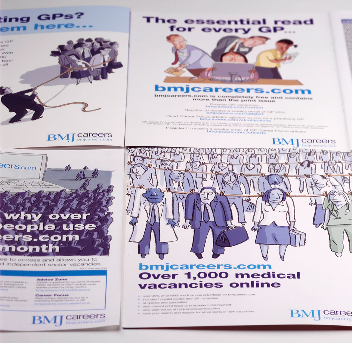 BMJ Careers Press Advertising