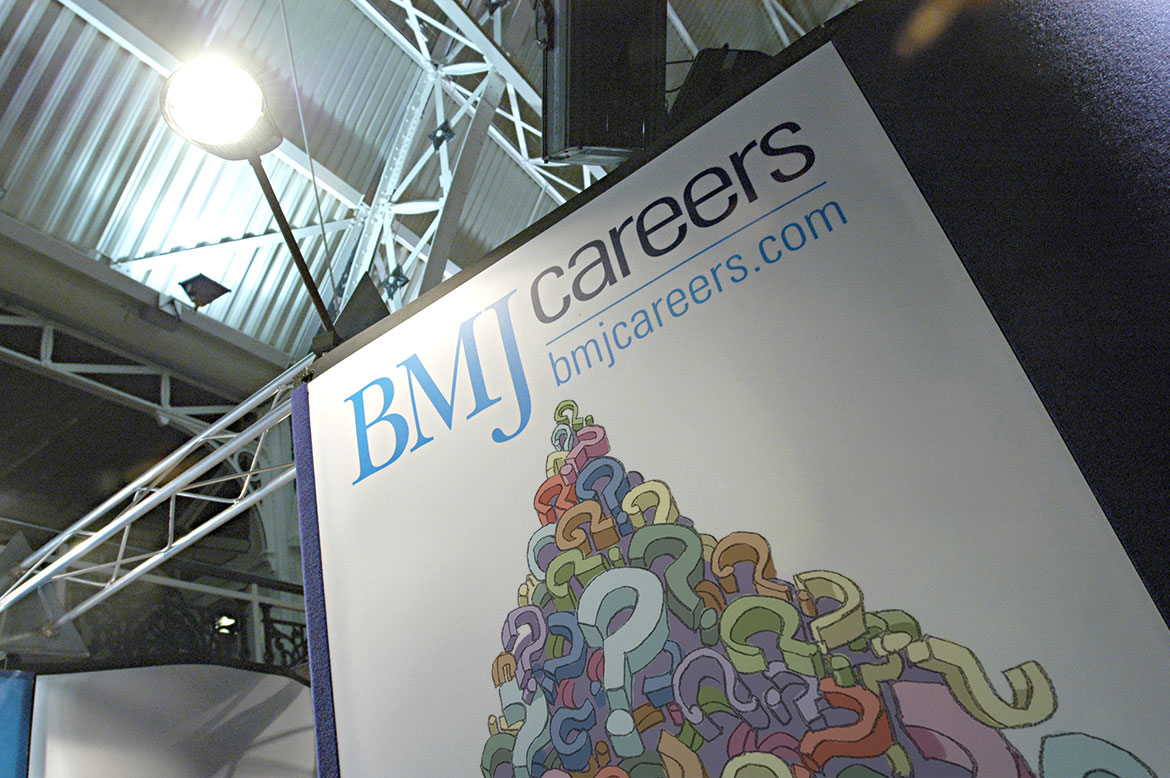 BMJ Careers Exhibition Stand
