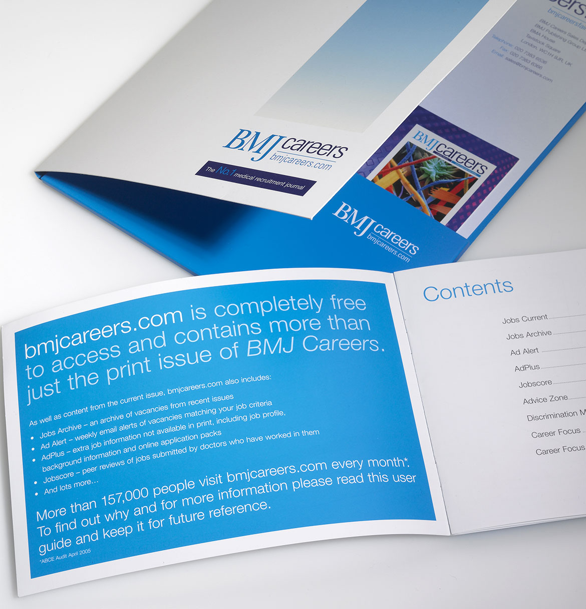 BMJ Corporate Folder and Booklet