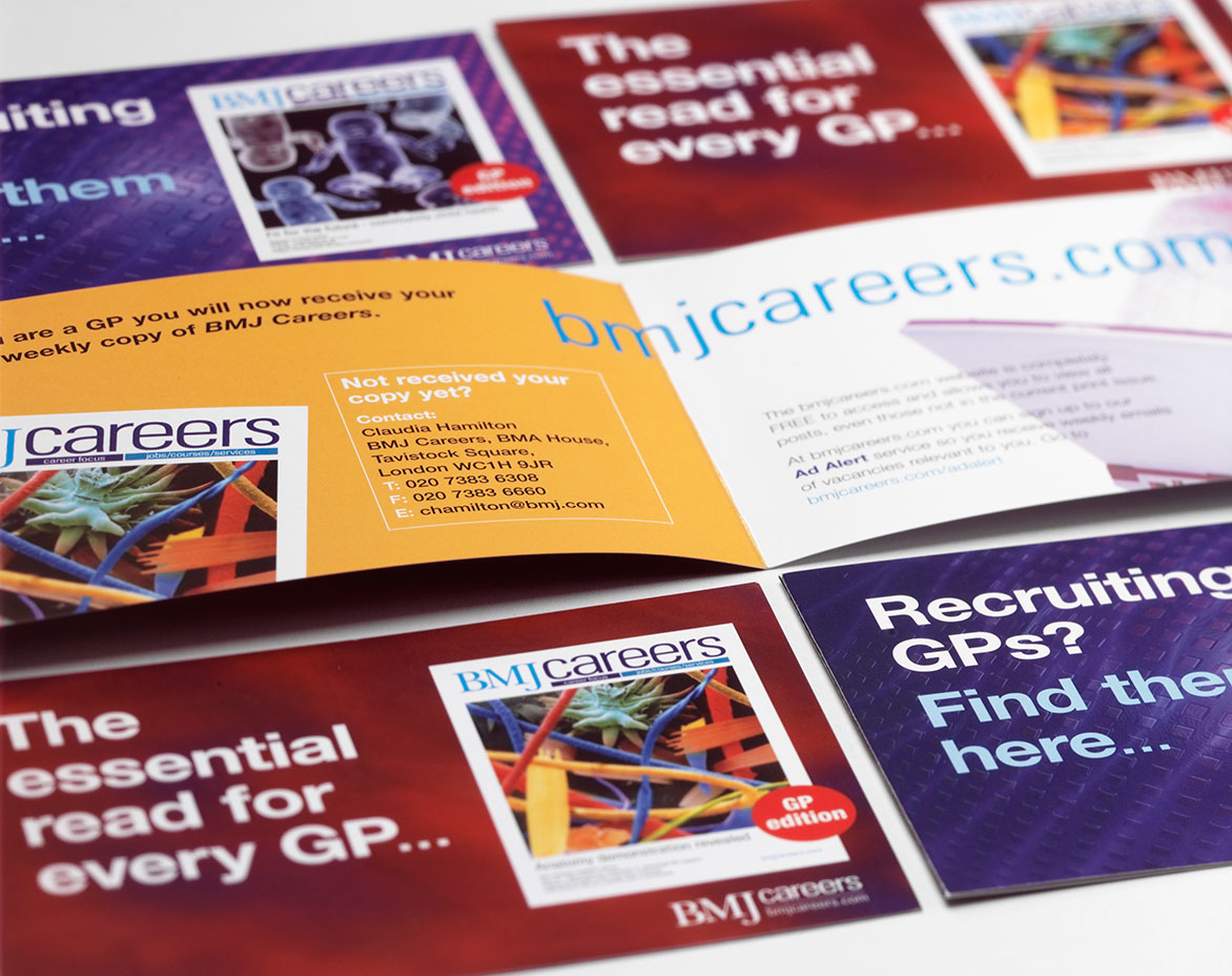 BMJ Careers Promotional Leaflets