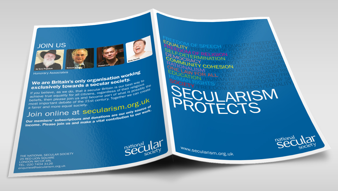 NSS Protects Promotional Leaflet